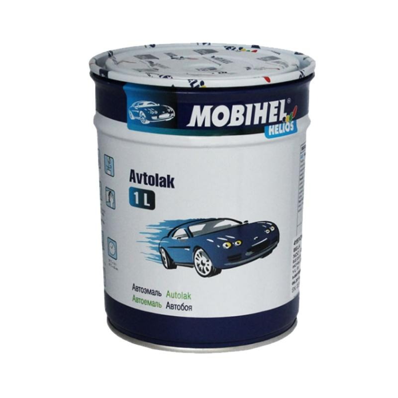 Mobihel 1110 ML серая, автомобильная краска алкидная, автоэмаль 1 л